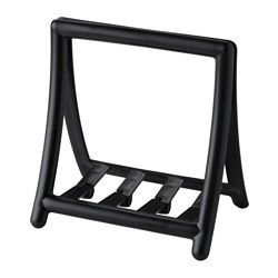 GREJA, Napkin holder, black