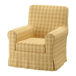 JENNYLUND armchair cover, Skaftarp yellow