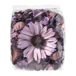 DOFTA potpourri, scented, Blackberry lilac Net weight: 3 oz Net weight: 90 g