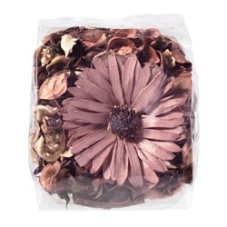 DOFTA potpourri, scented, Nutmeg and vanilla brown Net weight: 3 oz Net weight: 90 g