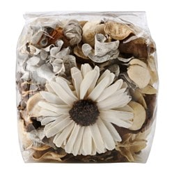 DOFTA potpourri, scented, sweet natural Net weight: 3 oz Net weight: 90 g