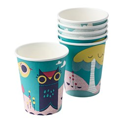 SPRUDLA disposable mug Volume: 25 cl Package quantity: 6 pack