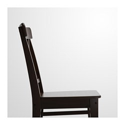 INGOLF Chair, Brown Black