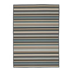 KÄRBÄK rug flatwoven, in/outdoor, multicolour in/outdoor Length: 195 cm Width: 133 cm Area: 2.59 m²