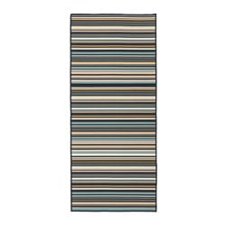 KÄRBÄK rug flatwoven, in/outdoor, in/outdoor multicolour Length: 200 cm Width: 80 cm Area: 1.60 m²