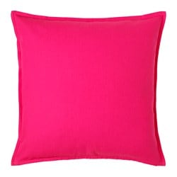 "GURLI cushion cover, bright pink Length: 20 "" Width: 20 "" Length: 50 cm Width: 50 cm"