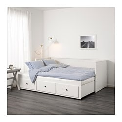 Home Bedroom Beds With Storage Hemnes Daybed Frame 3 Drawers Ikea