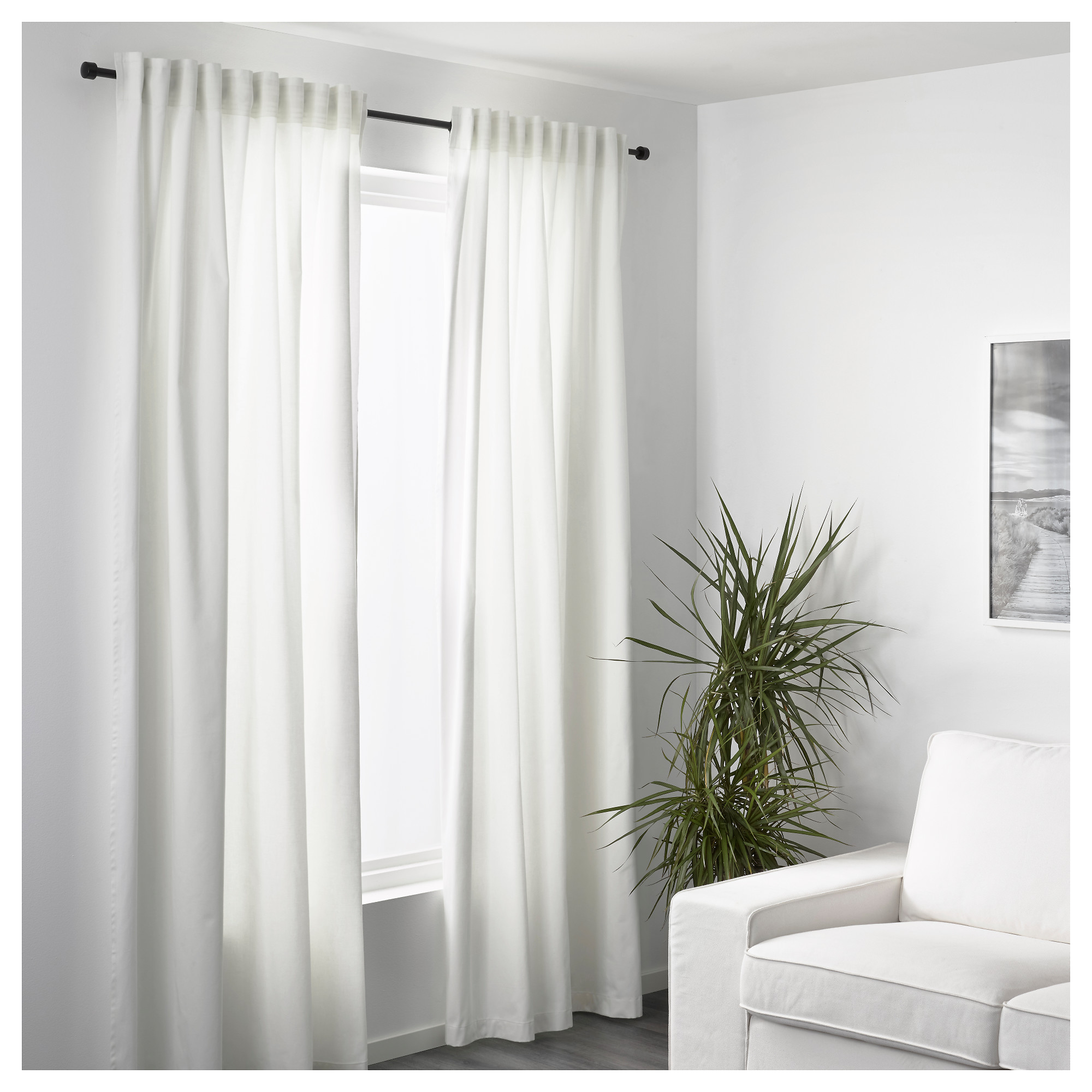 MERETE Curtains, 1 pair - 57x98 \