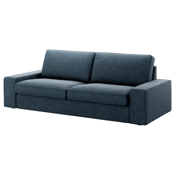 kivik 3er sofa hillared dunkelblau ikea. Black Bedroom Furniture Sets. Home Design Ideas