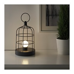 STRÅLA LED lantern Height: 29 cm Diameter: 18 cm