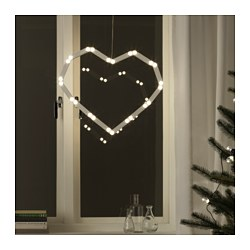 STRÅLA LED hanging lighting decoration Diameter: 32 cm