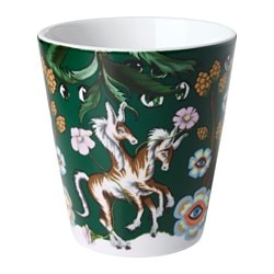 STUNSIG mug, mythical creatures Height: 10 cm Volume: 35 cl