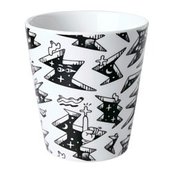 STUNSIG mug, space Height: 10 cm Volume: 35 cl