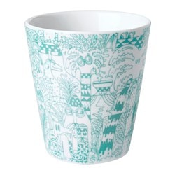 STUNSIG mug, tropic Height: 10 cm Volume: 35 cl