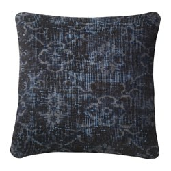 BOKARV, Cushion cover, dark blue