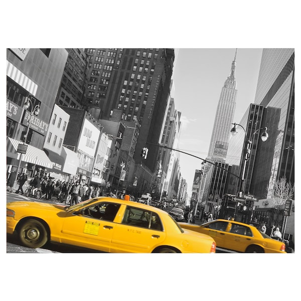 Bettwasche New York Taxi