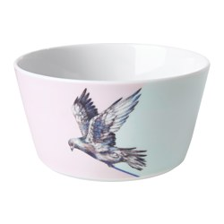 STUNSIG bowl, girl Height: 7 cm Diameter: 14 cm