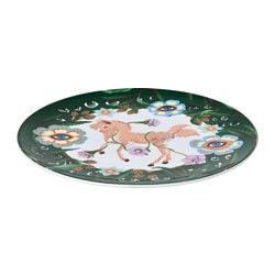"STUNSIG side plate, mythical creatures Length: 8 "" Width: 8 "" Diameter: 8 "" Length: 21 cm Width: 21 cm Diameter: 21 cm"