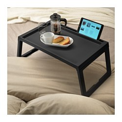 Superbe KLIPSK Bed Tray, Black. IKEA FAMILY