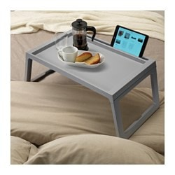 Charmant KLIPSK Bed Tray, Gray