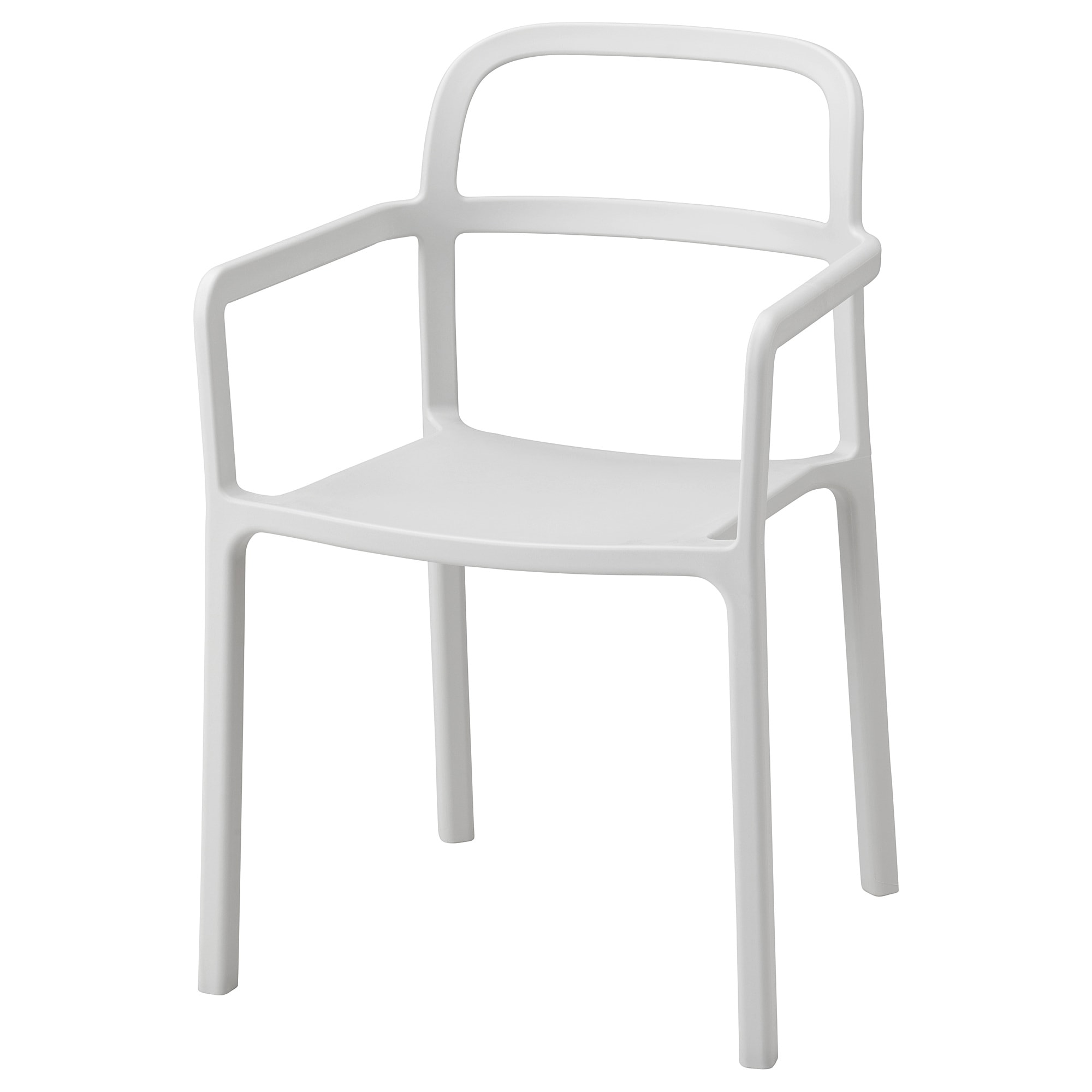 YPPERLIG Armchair, In/outdoor, Light Gray Tested For: 220 Lb Width: