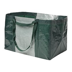 YPPERLIG, Shopping bag, large, green