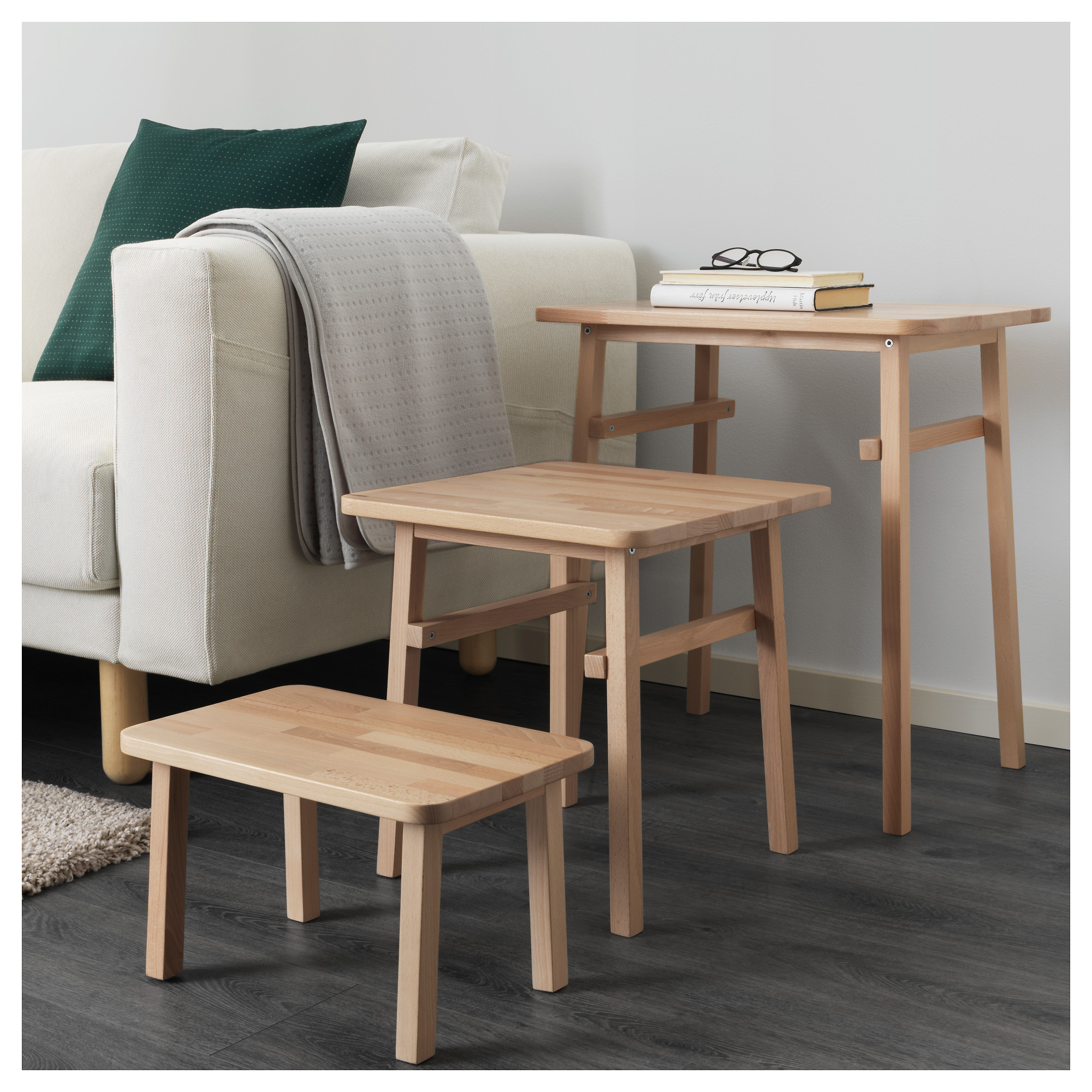 YPPERLIG Nest of tables set of 3 IKEA
