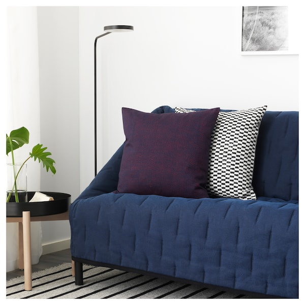 ypperlig 2er sofa orrsta schwarzblau ikea. Black Bedroom Furniture Sets. Home Design Ideas