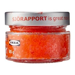 SJÖRAPPORT seaweed pearls, red Net weight: 3.0 oz Net weight: 85 g