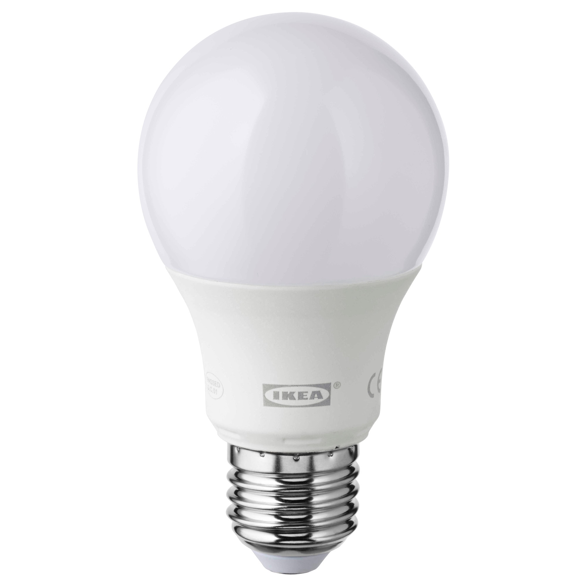 Led lampen led leuchten gnstig online kaufen ikea ledare led lampe e27 600 lm dimmbar rund opalwei lichtstrom 600 lm parisarafo Choice Image
