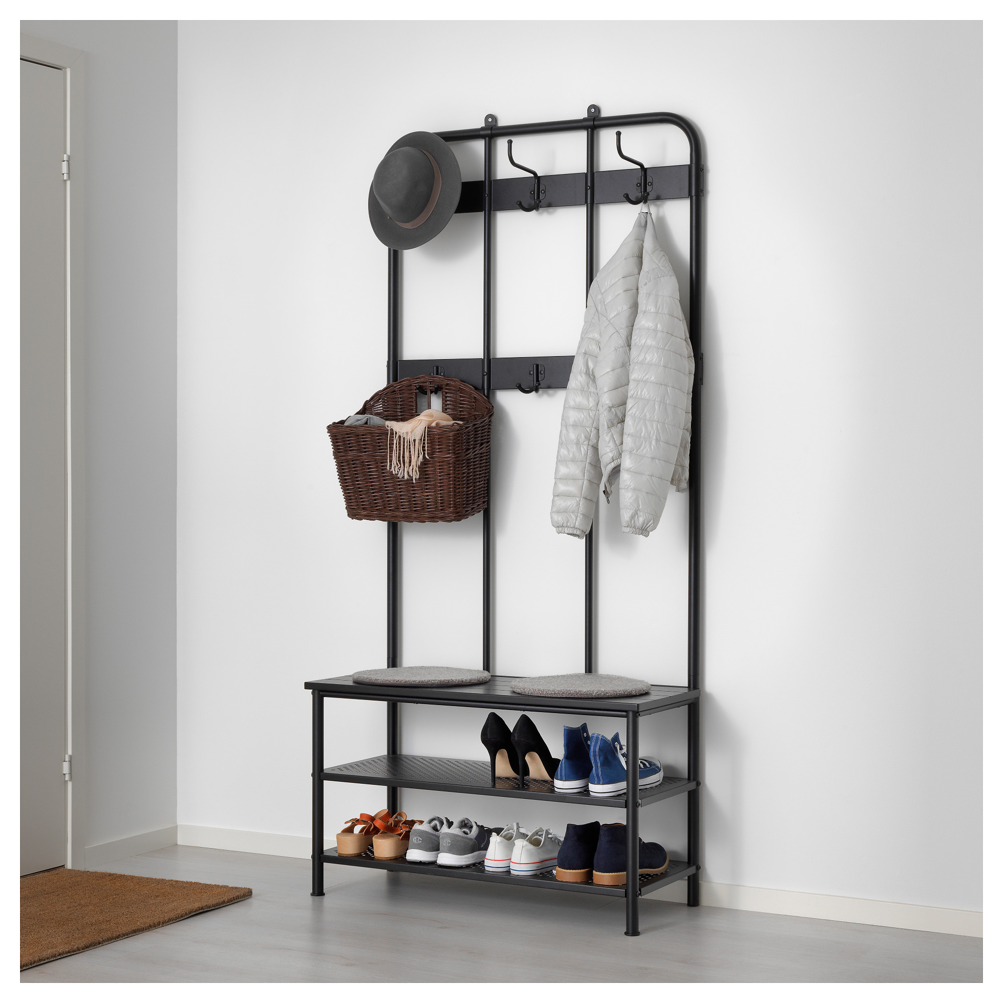 Exceptionnel PINNIG Coat Rack With Shoe Storage Bench   IKEA