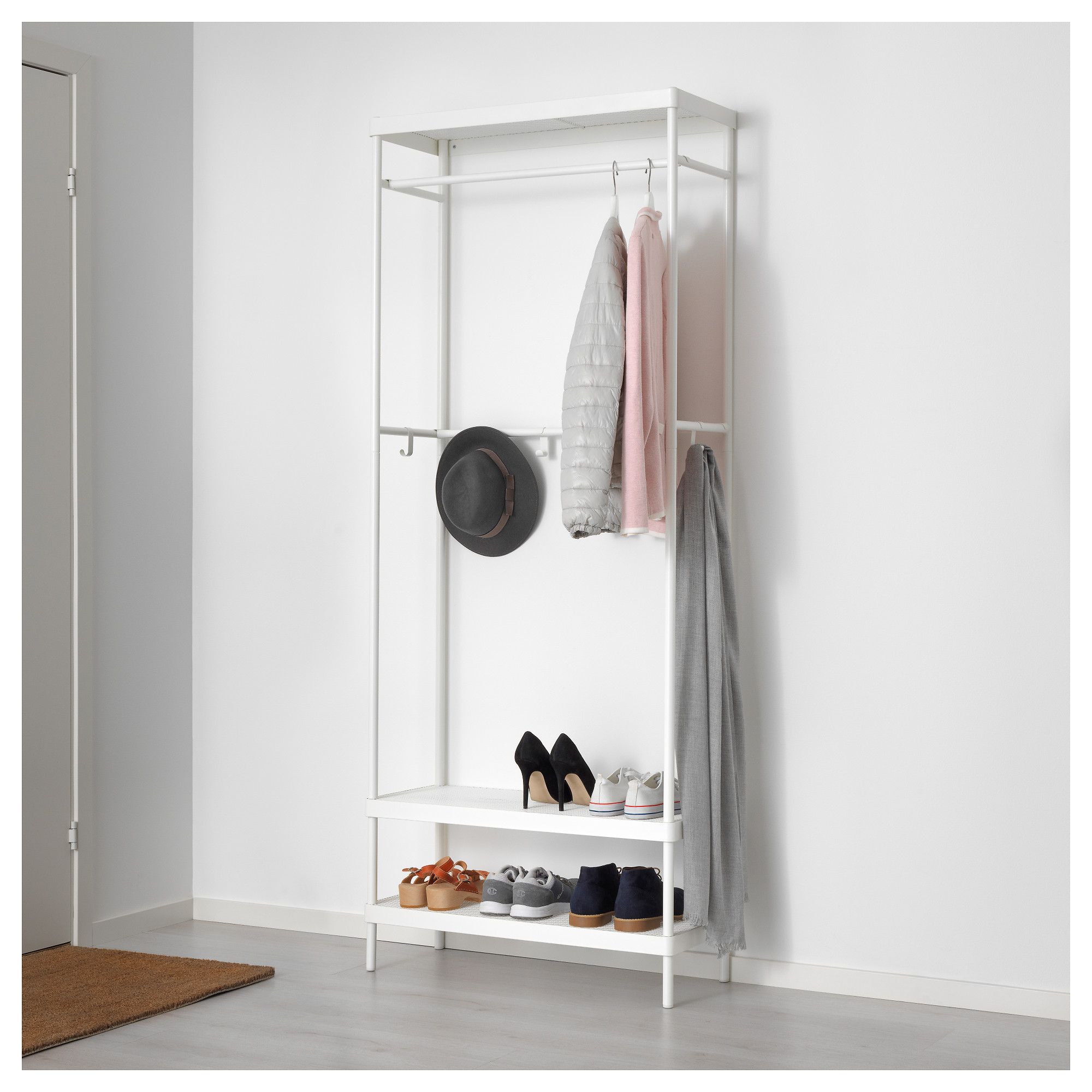ikea coat storage