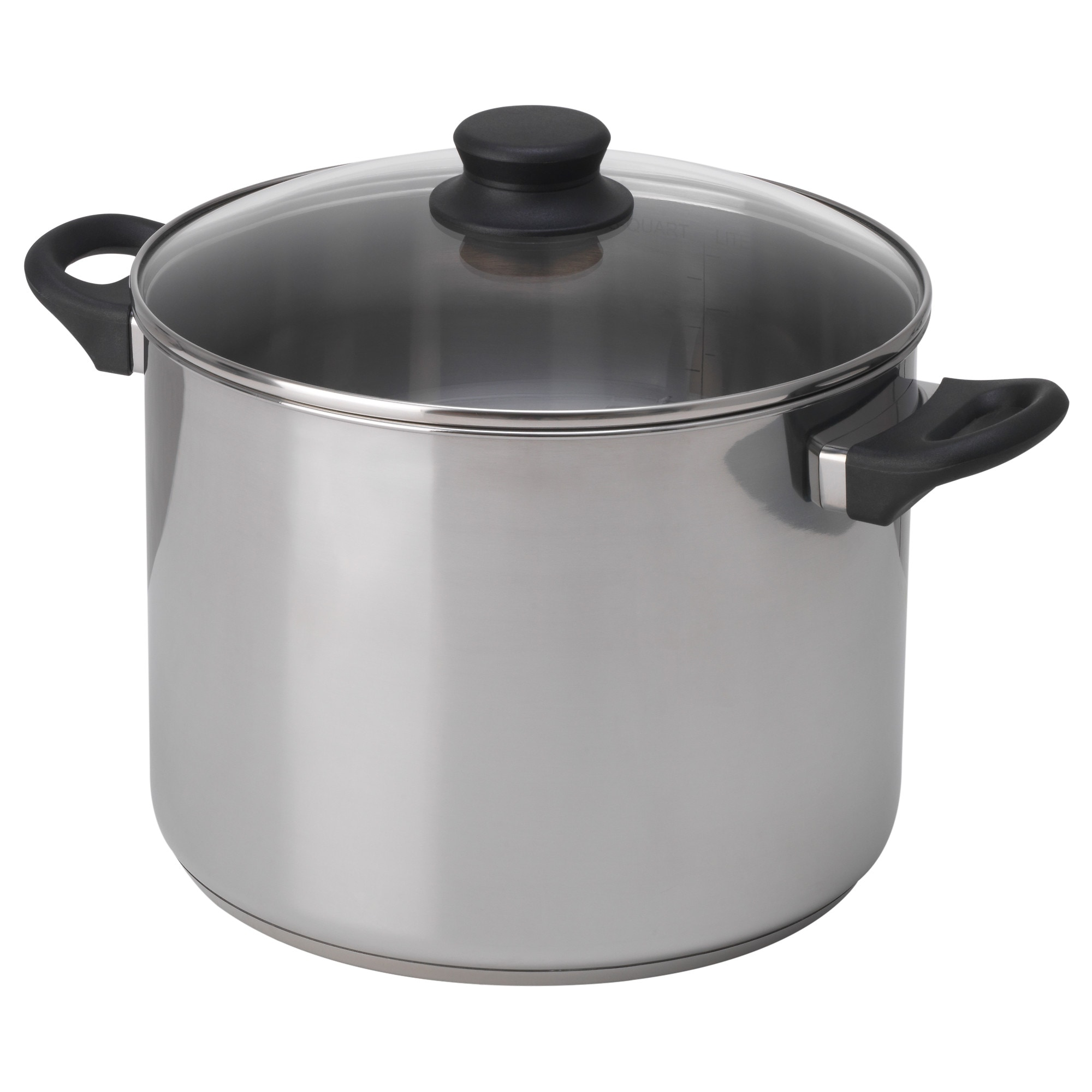 Annons Pot With Lid Glass Stainless Steel Ikea