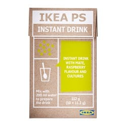 IKEA PS instant beverage, maté, raspberry 10 piece