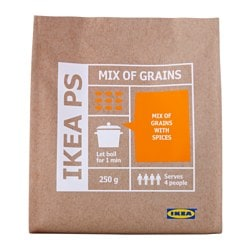 IKEA PS whole grain mix with spices Net weight: 250 g