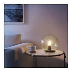 Fado table lamp with led bulb ikea fado table lamp with led bulb yellow mozeypictures Gallery