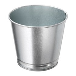 BINTJE plant pot, galvanised