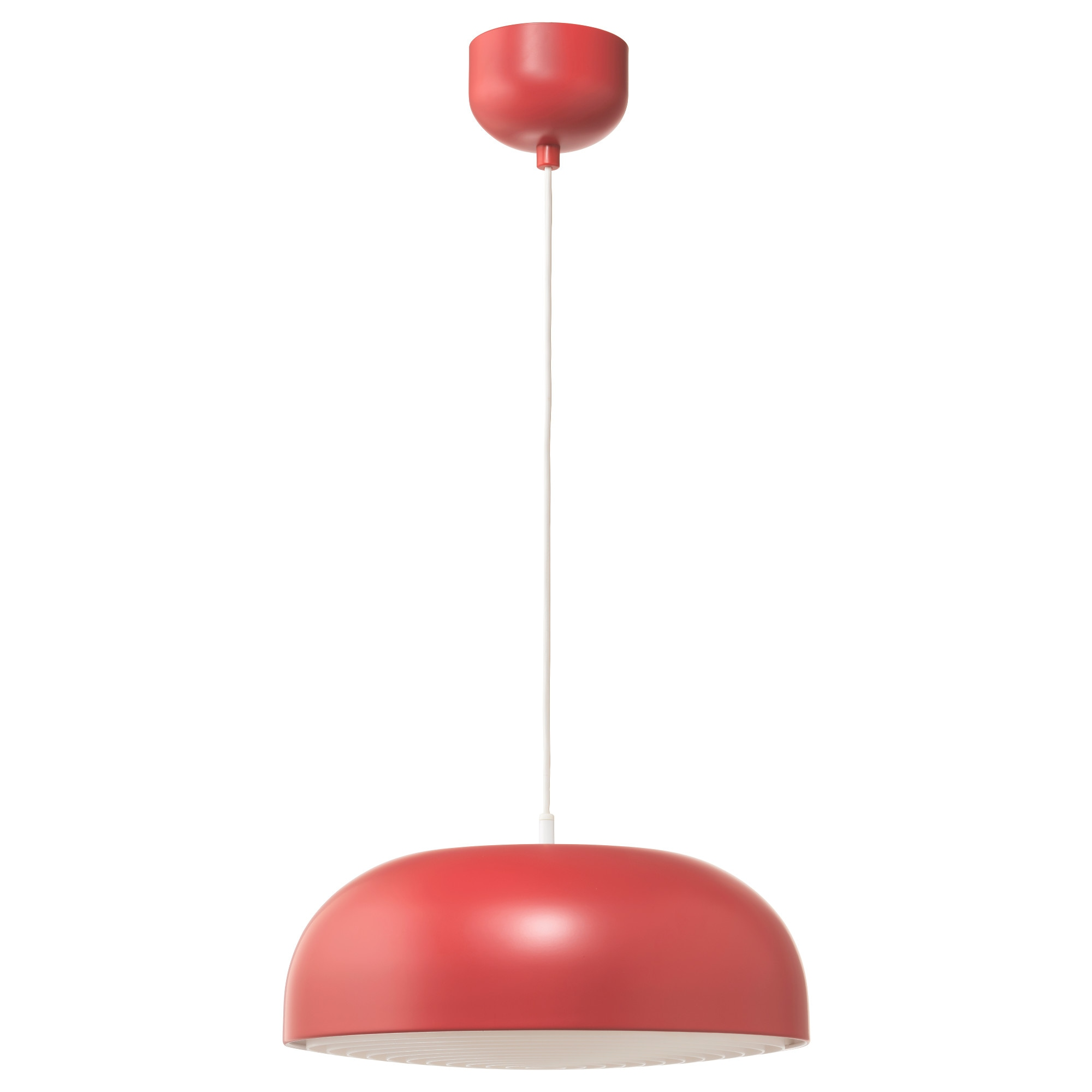 NYMÅNE Pendant Lamp, Red Max.: 9 W Diameter: 16