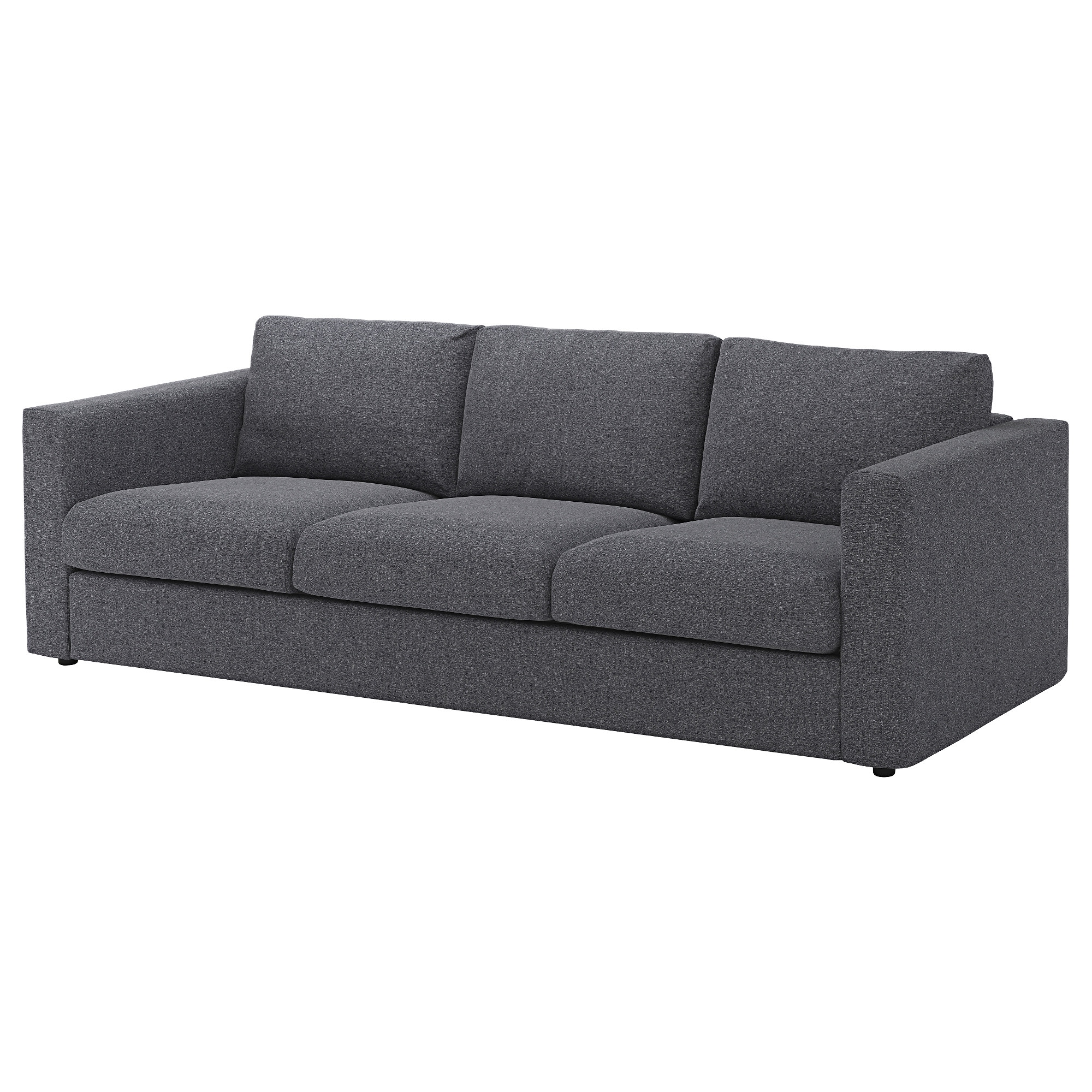 vimle sofa gunnared medium gray. fabric sofas  modern  contemporary  ikea