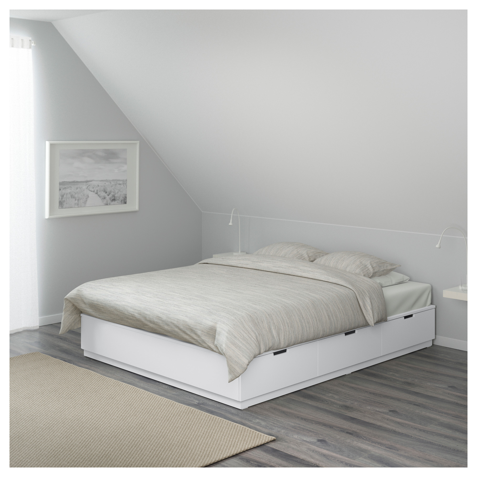 curve platform solid the wood furniture bed home slight with best drawers tag miami frame pedestal