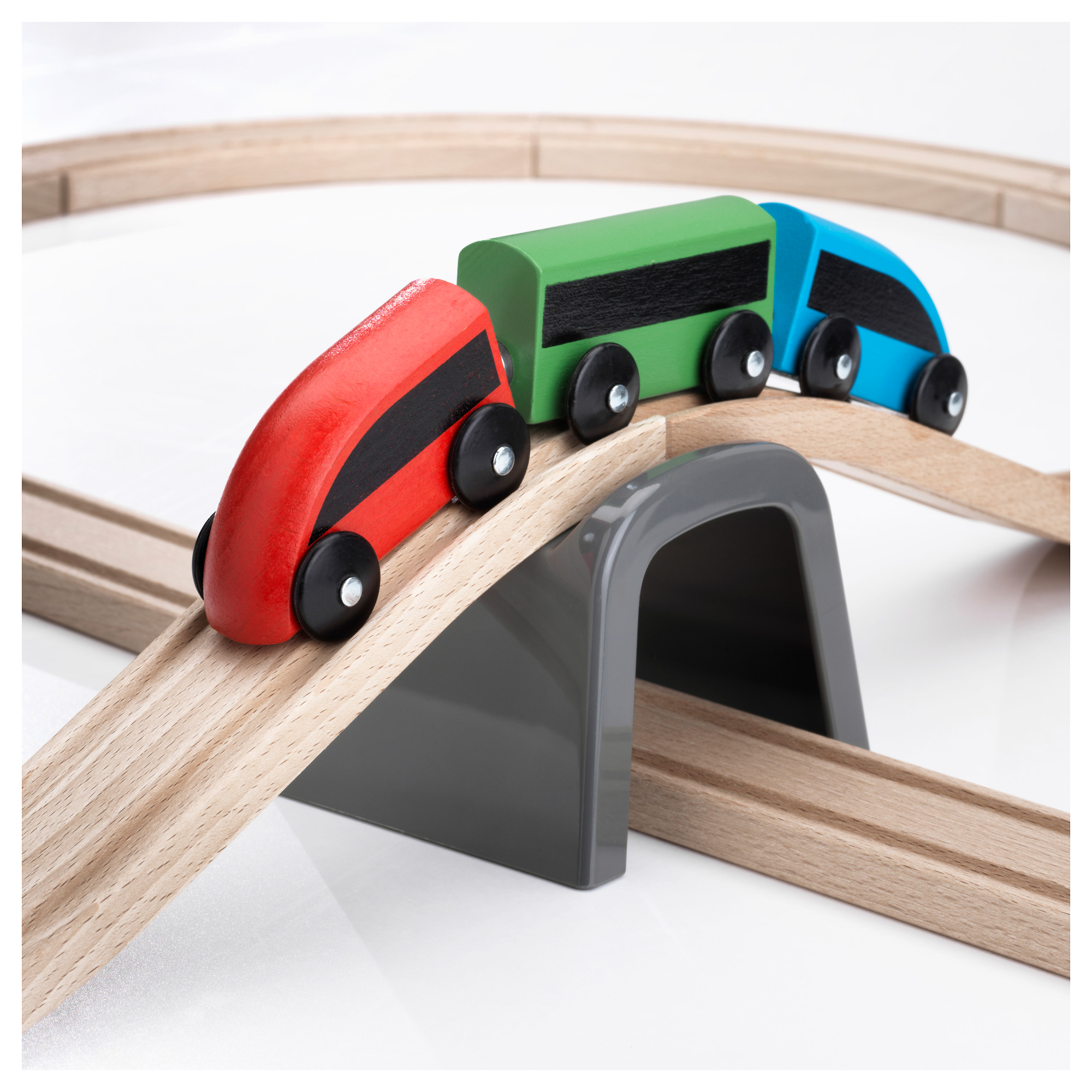 20-piece basic train set LILLABO multicolour