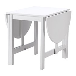 Dining tables up to 4 seats up to 6 seats ikea for Ikea drop leaf dining table