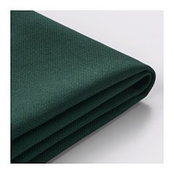 VIMLE cover for 3-seat sofa, with chaise longue, Gunnared dark green