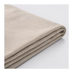 VALLENTUNA, Cover for back cushion, Orrsta beige