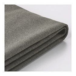 KIVIK, Sofa cover, Borred gray-green
