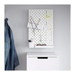 SKÅDIS pegboard combination, white
