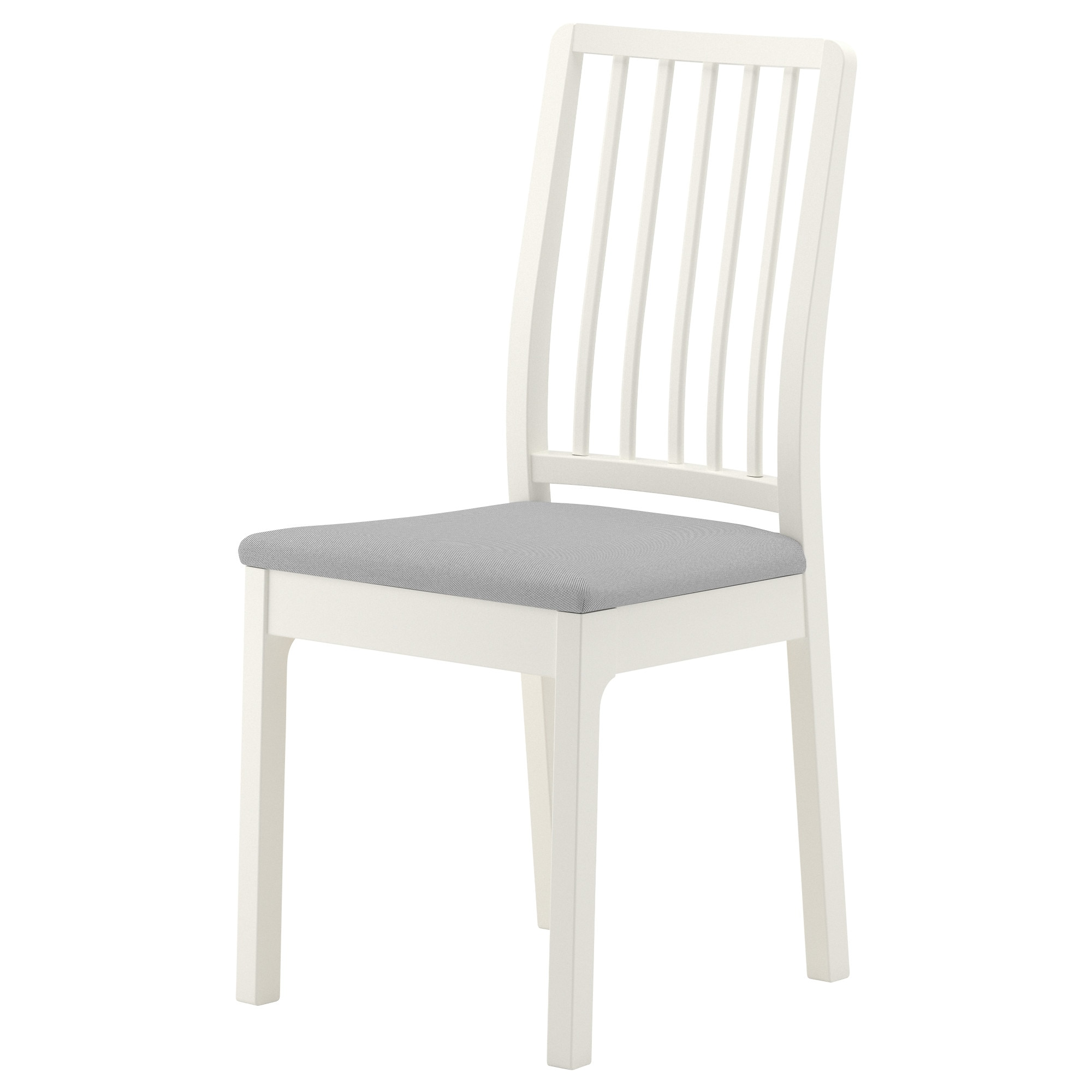 ekedalen chair white orrsta light gray tested for 243 lb width 16