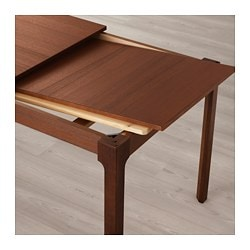 EKEDALEN Extendable Table, Brown