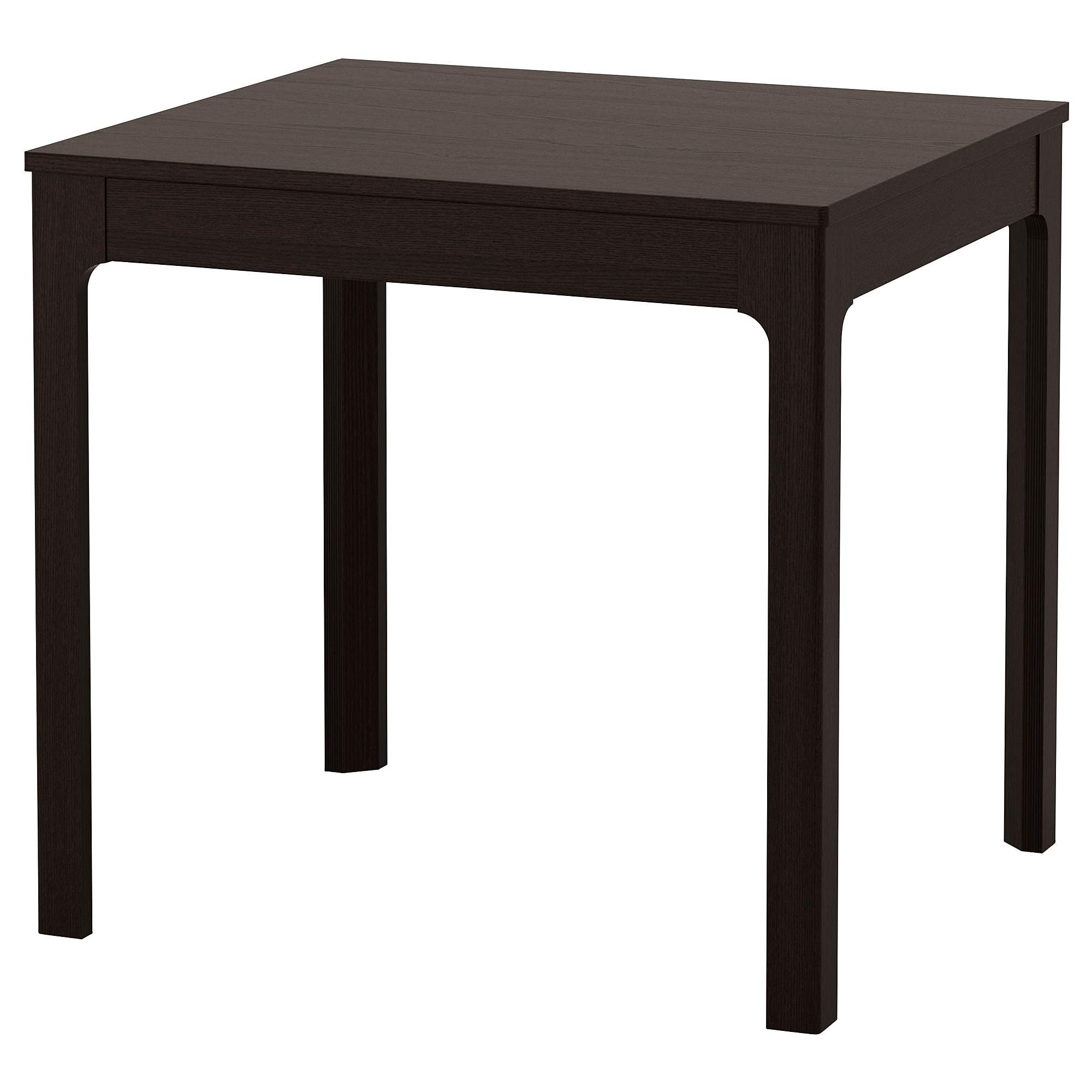 EKEDALEN extendable table, dark brown Min. length: 31 1/2