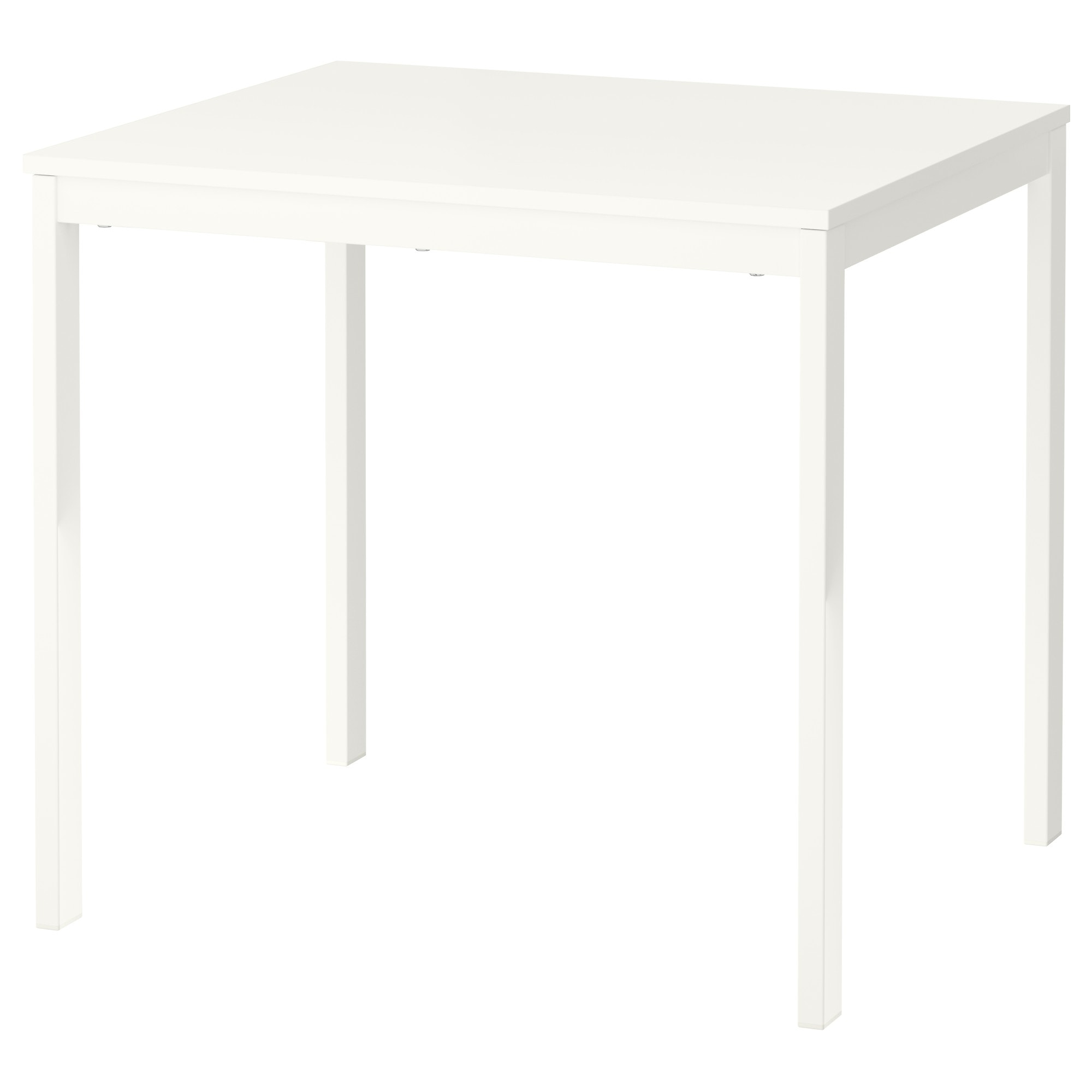 VANGSTA Mesa extensible - blanco - IKEA